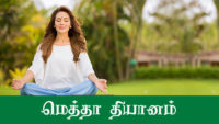 Loving Kindness Meditation | மெத்தா தியானம் | Tamil Buddhist, buddhist teachings in tamil